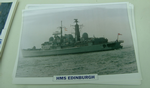 HMS Edinburgh 1983 Destroyer warship framed picture (7)
